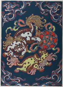 Image of Untitled (Two Foo Dogs)