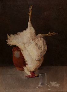 Image of Still Life (with Chicken)