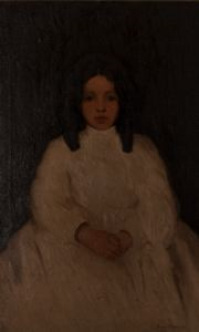 Image of Child in White