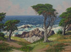 Image of Cypress Trees, 17 Mile Drive, Carmel-by-the-Sea, California