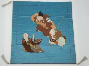 Image of Fukusa-Three Men Laughing
