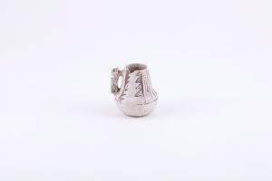 Image of Anasazi (Chaco) black on white miniature pitcher