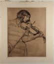 Image of Young Woman Violinist