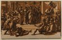 Image of Death of Ananais, after Raphael