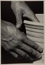 "Image of Brochure for A Photographic Study - including reproduction of photo ""The Hands of the Potter"""