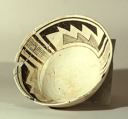 Image of Anasazi black on white bowl, Reserve or Roosevelt