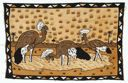 Image of Bamana cloth with three birds