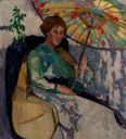Image of Woman with Parasol