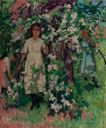 Image of Girls Under Blossoming Trees [also known as Children Under an Apple Tree]