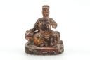 Image of Chinese Dignitary on Throne