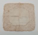 Image of Handkerchief: lawn, border of Carrick-ma-cross lace (Irish guipure)
