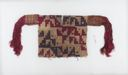 Image of Pre-Columbian infant tunic with stepped design