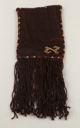 Image of Pre-Columbian bag with twist fringe