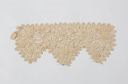 Image of Lace cuff: white Irish crochet