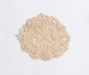 Image of Lace: round medallion, Maltese cross