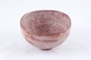 Image of Brown Oxidation Fired Bowl with White Mottled Design