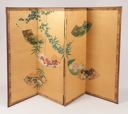 Image of Four panel folding screen