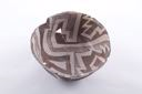Image of Anasazi (Reserve) brown and white bowl
