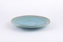 Image of Aqua Colored Stoneware Bowl or Platter