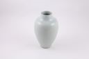 Image of Hakuji vase with very light celadon and vertical crackle