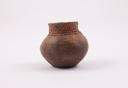 Image of Monochrome miniature utility ware olla, Anasazi or Mogollon