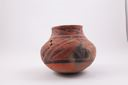 Image of Anasazi (Wingate) black and red olla
