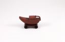 Image of Ark teapot on scroll base